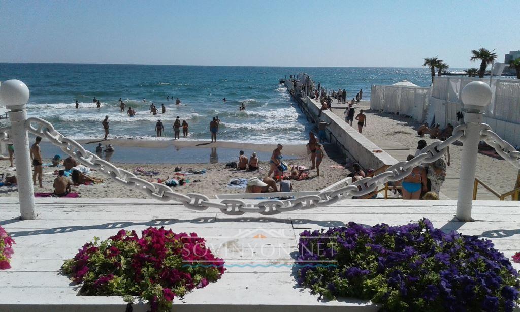 Аркадия пляж фото