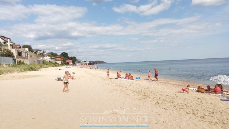 Безлюдные пляжи Одессы фото