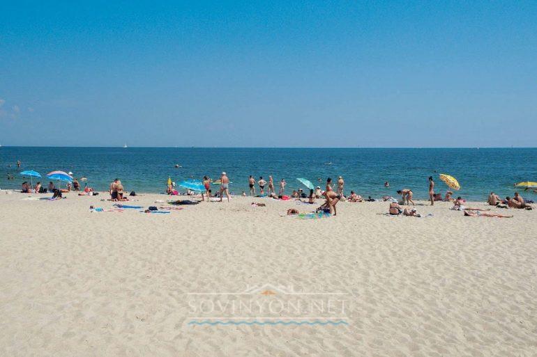 Чкаловский пляж Одесса