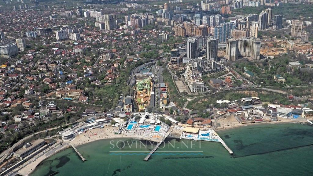 Пляжи Одессы Аркадия фото