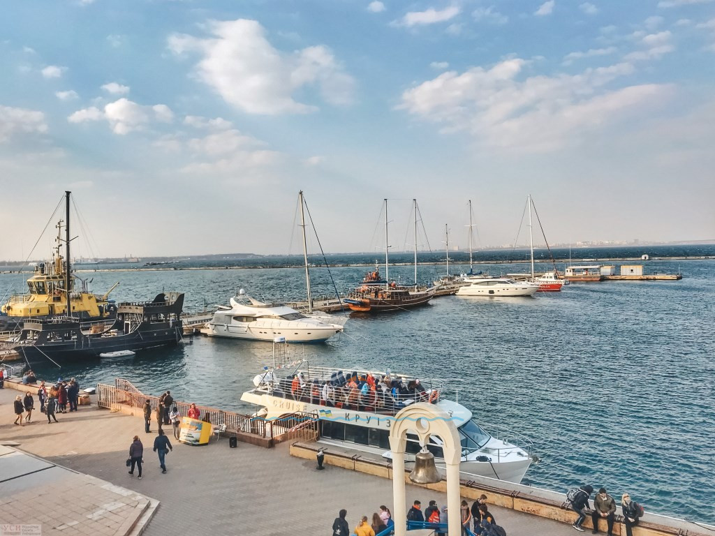 Пляжи Одессы Морвокзал