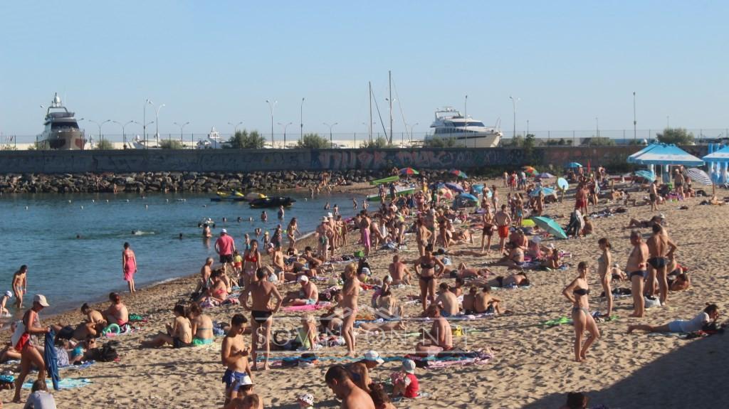 Пляж в Черноморке фото