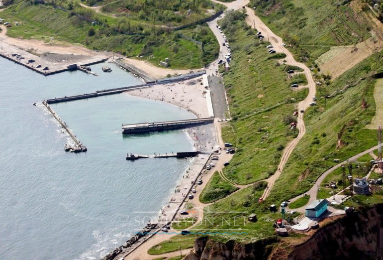 Поповский пляж фото