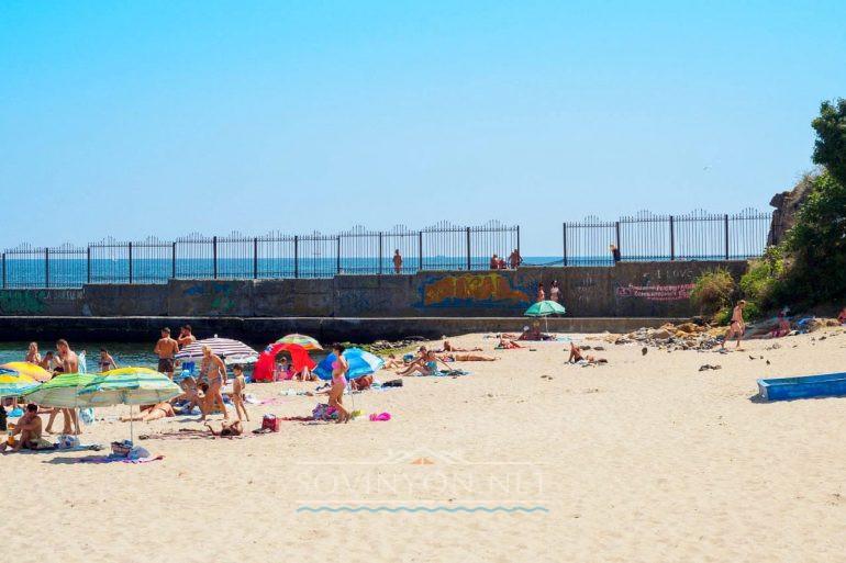 Нудистский пляж Одесса фото