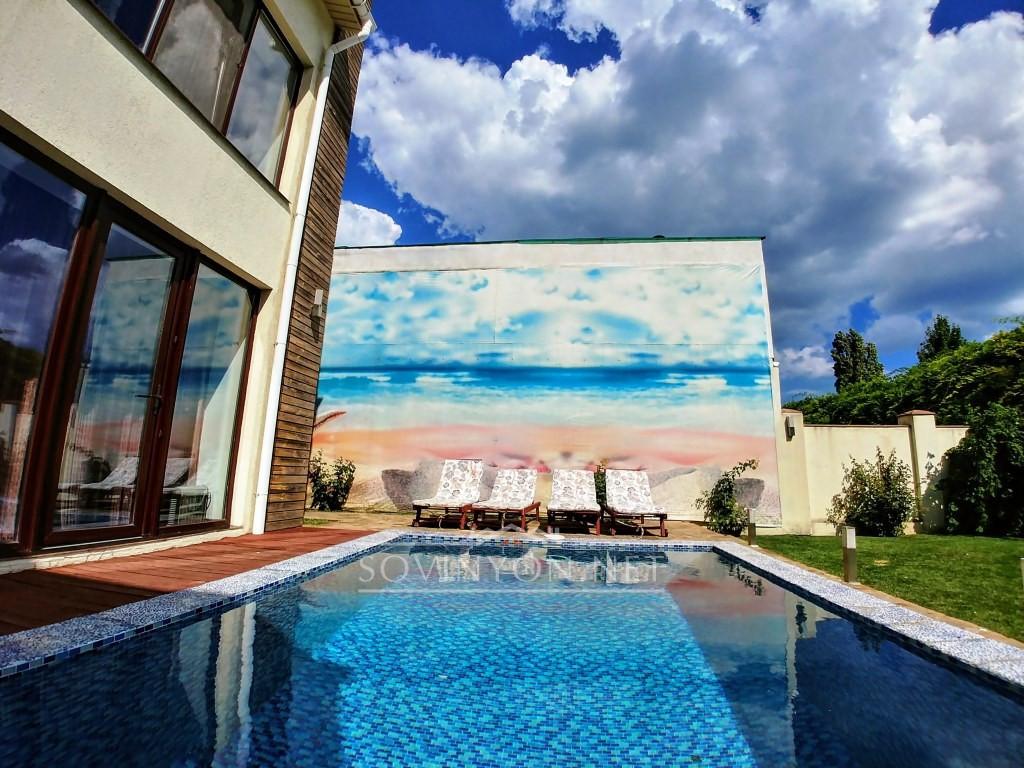Дом с бассейном Совиньон 1