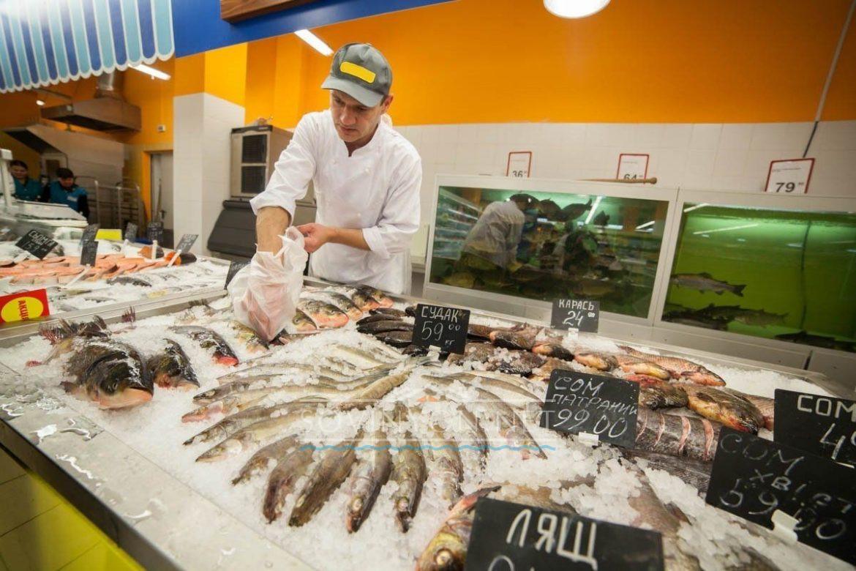 Рыба в Одессе свежая