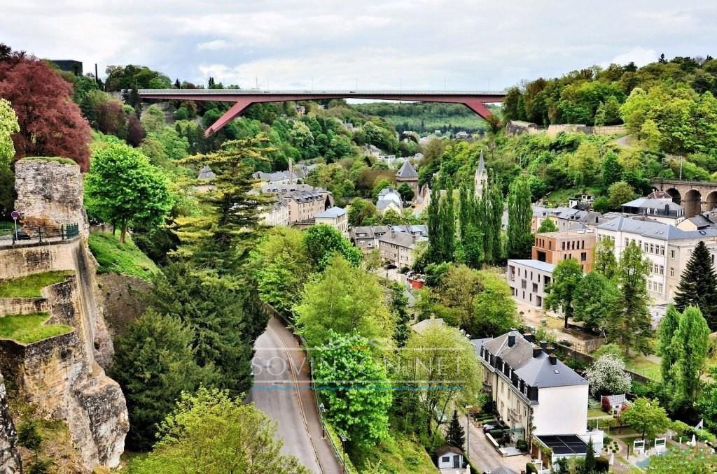 мост герцогини Шарлотты в Люксембурге