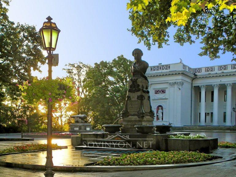 Памятник Пушкину в Одессе фото