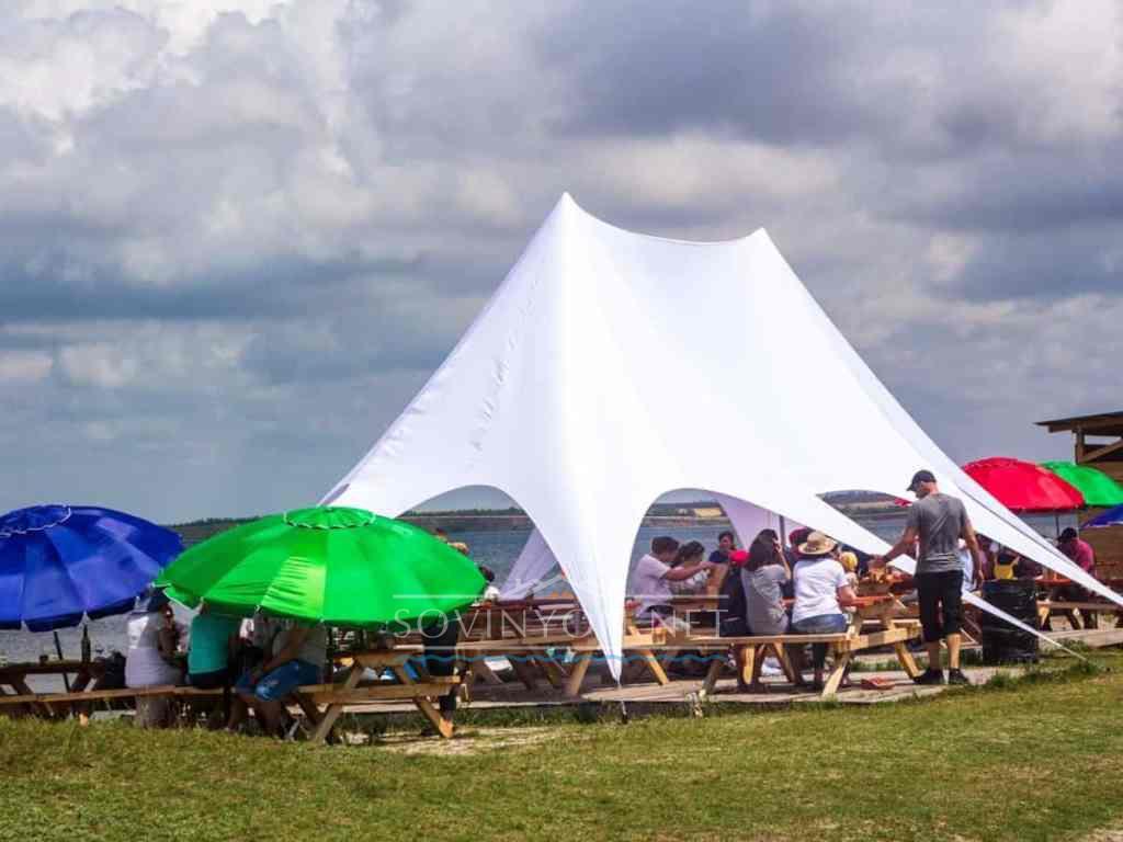 Устричная ферма палатка