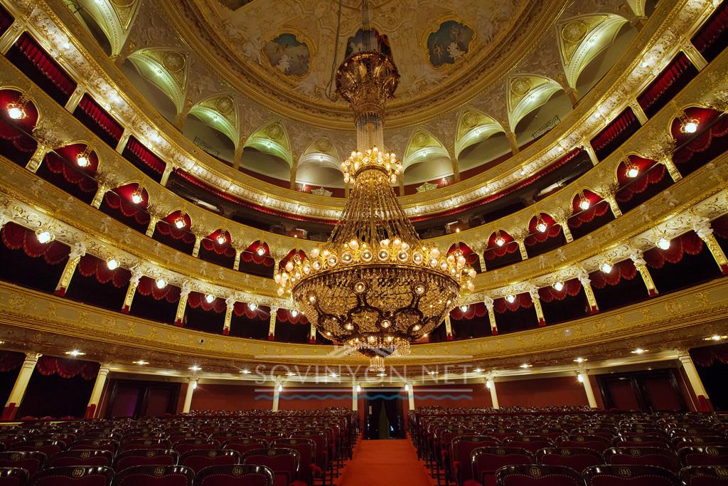 Одесский оперный фото Люстры