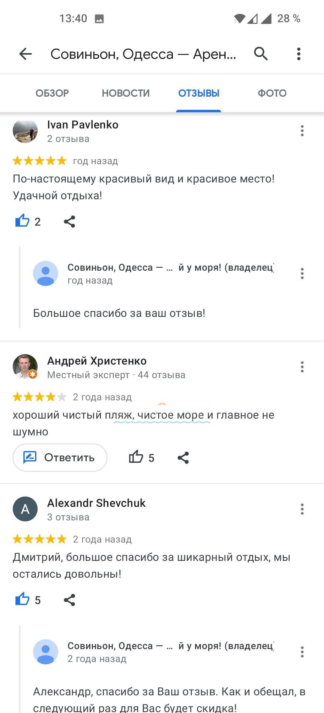отзыв Совиньон