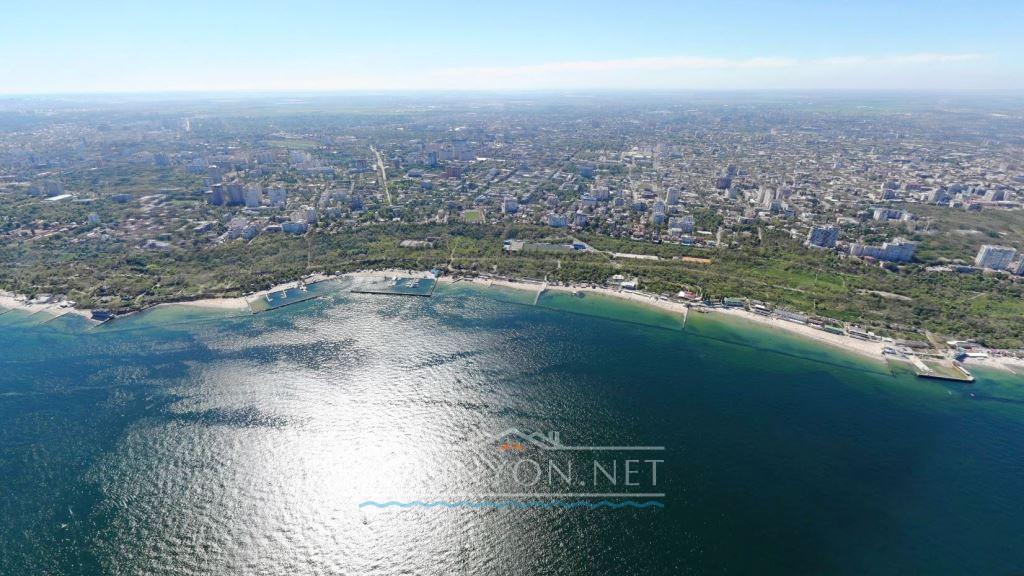 Одесса со стороны моря