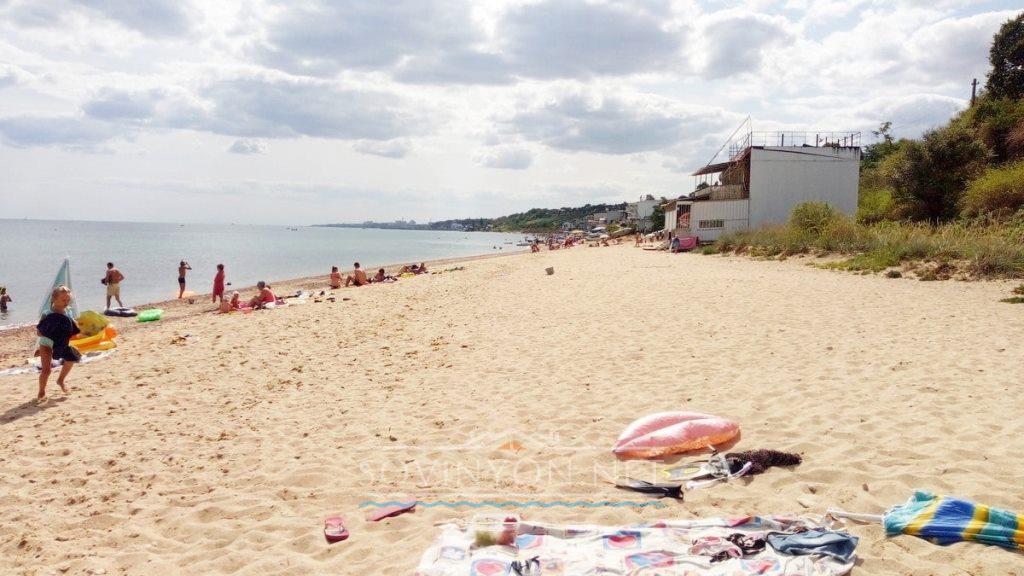 чистые пляжи в Одессе