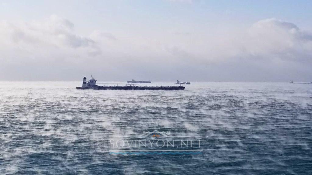 Холодное море в Одессе