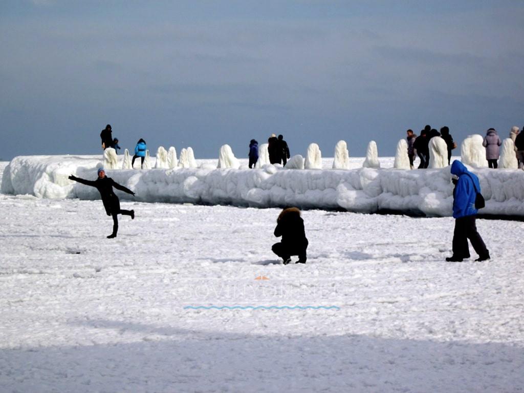 Когда холодное море в Одессе